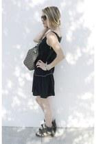 Bel Air dress - Gucci bag - Celine sunglasses - Isabel Marant sneakers