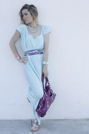 Le boudoir de Maria bracelet - Le boudoir de Maria dress - balenciaga bag