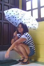 Polka dot umbrella