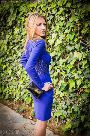 Emilio Pucci dress - Zara bag