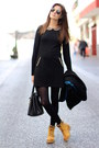 Panama-jack-boots-lefties-dress-rayban-sunglasses