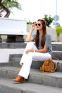 Topman-jeans-pecas-bag-zara-t-shirt-stradivarius-heels