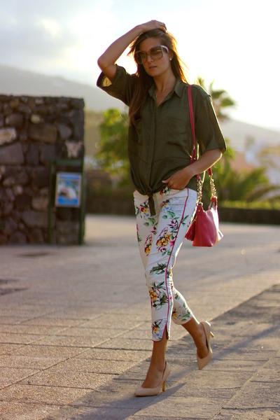 Sheinside shirt - imperio clandestino bag - emporio armani sunglasses
