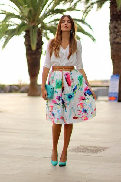 Choies-skirt-zara-heels-sheinside-blouse