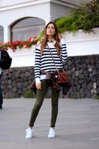 Zara jeans - H&M sweater - Guess bag - Adidas sneakers