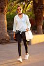 Zara-jeans-pull-bear-shirt-adidas-sneakers