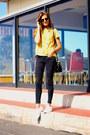 Giuseppe-zanotti-jeans-ray-ban-sunglasses-adidas-sneakers