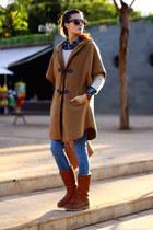 Panama Jack boots - nowIStyle sweater - Freyrs sunglasses
