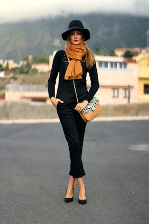 imperio clandestino bag - Sheinsidecom dress - Zara hair accessory