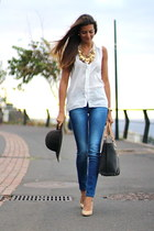 Stradivarius jeans - El potro bag - suiteblanco heels