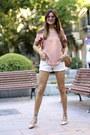 Prada-bag-mango-shorts-coach-flats-nowistyle-blouse