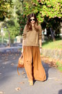 Bershka-boots-yoins-sweater-zara-bag-zara-skirt