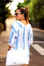 Christian-siriano-bag-zara-shorts-christian-dior-sunglasses