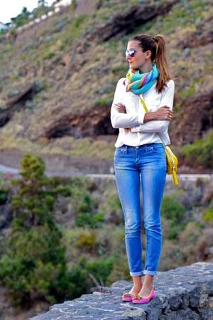 Stradivarius jeans - imperio clandestino bag - Zara sunglasses