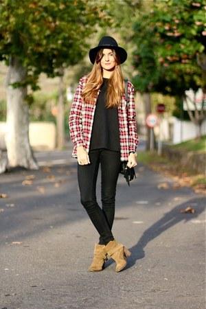 suchn jacket - Zara boots - Zara hair accessory - natura sweatshirt