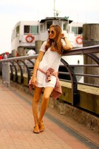 Sheinside dress - The Fab Glasses sunglasses - Panama Jack sandals