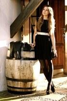 Zara bag - TFNC LONDON dress - Sheinside jacket - Zara heels