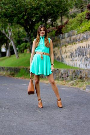 pepa loves dress - Stradivarius heels - Sheinside belt
