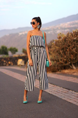 Prada sunglasses - shein jumper - H&M earrings - Zara heels