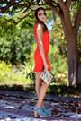 Zara-dress-green-bags-canarias-bag-miu-miu-sandals-nayra-glez-necklace