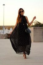 Fendi sunglasses - sammydress dress - Mango bag - Mango sandals