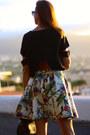 Choies-skirt-shein-blouse-stuart-weitzman-heels