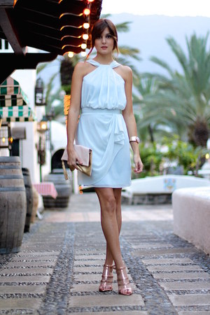 vlabellondon dress - H&M bag - Mango heels
