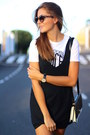 Zara-dress-choies-bag-stradivarius-sneakers
