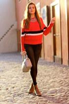 Zara boots - Sheinside sweater - Michael Kors bag