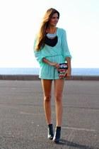 Zara bag - inlovewithfashion jumper - Mi Maria Morena necklace - Mango heels