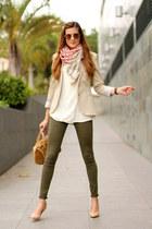 Zara jeans - Michael Kors bag - Gucci sunglasses - Mango t-shirt