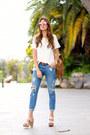 Mango-jeans-itshoes-bag-mango-t-shirt-itshoes-heels