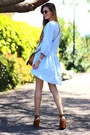 H-m-dress-rayban-sunglasses-stradivarius-heels