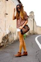 nowIStyle shirt - suiteblanco boots - Mango shorts