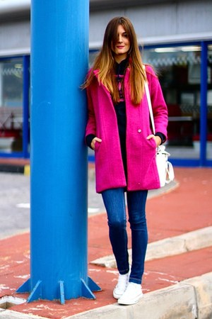 liketosurf hoodie - PERSUNMALL coat - PERSUNMALL bag - Converse sneakers