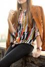 Bershka-jeans-zara-jacket-shirt-blouse