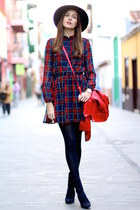 Menbur boots - Choies dress - Sheinside jacket - Primark hair accessory