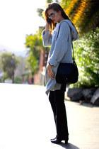 Mango jeans - ASH bag - Chanel sunglasses - Zara t-shirt