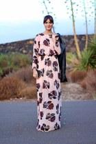 Zara dress - Zara jacket - pull&bear heels