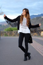shein jacket - Zara jeans - c&a blouse
