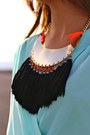 Zara-bag-mi-maria-morena-necklace-inlovewithfashion-jumper-mango-heels