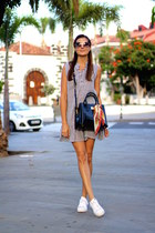 Sheinside dress - Bimba & Lola bag - Tom Ford sunglasses - Adidas sneakers