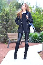 Sheinside jacket - Zara boots - PERSUNMALL bag - Queens Wardrobe panties