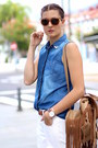 Mango-jeans-lefties-shirt-itshoes-bag-fendi-sunglasses