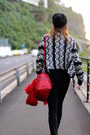 Zara-bag-ray-ban-sunglasses-stradivarius-hair-accessory-smash-cardigan