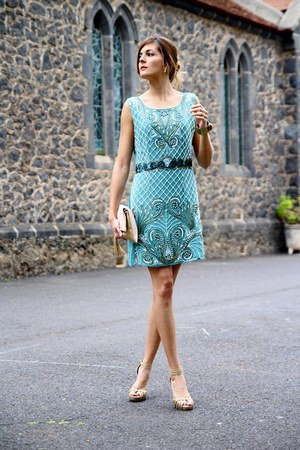 TFNC dress - H&M bag - Suite heels