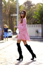 Shein-dress-guess-bag-fendi-sunglasses