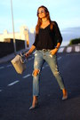 Mango-jeans-michael-kors-bag-fendi-sunglasses-shein-top