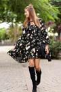 Zara-boots-shein-dress-ash-bag