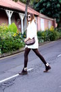 Panama-jack-boots-sheinside-sweater-natura-bag-insignia-store-watch